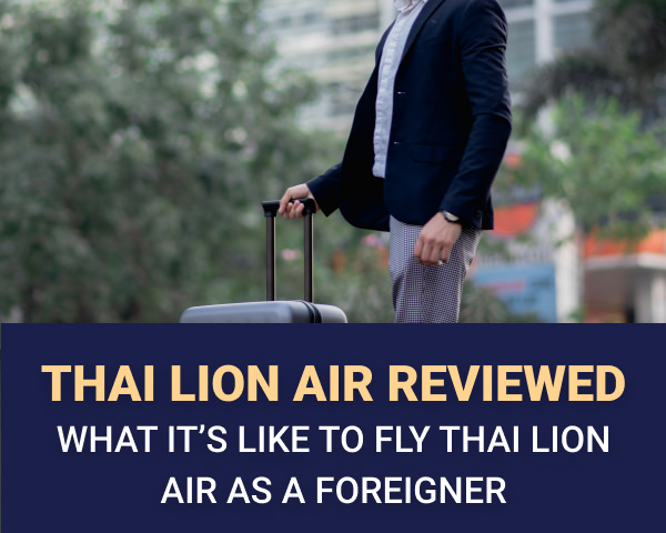 My experience flying thai lion air